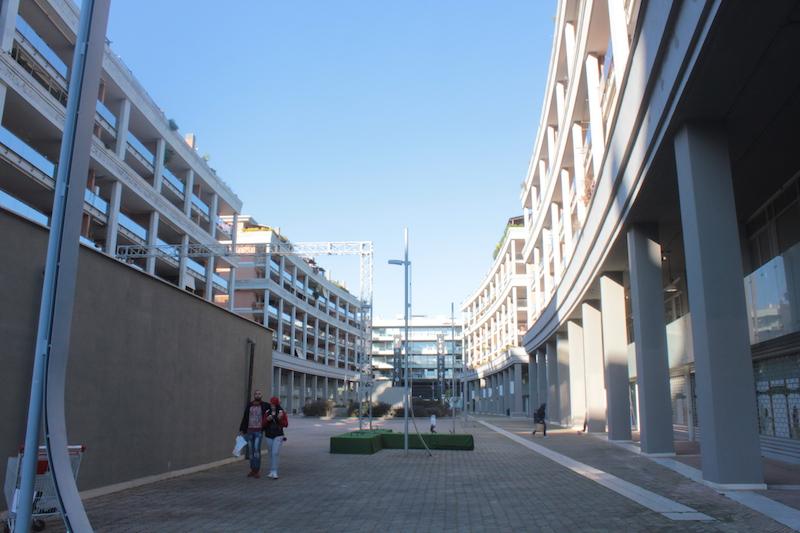 Un Parco pedonale